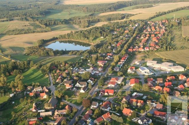 Luftbildaufnahmen von Pinnow und Schwerin
