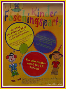 Kinderfasching 2018 in Pinnow