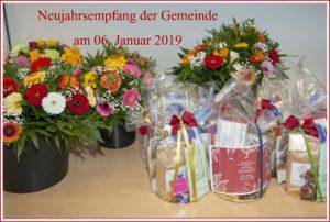 Neujahrsempfang 2019 der Gemeinde Pinnow