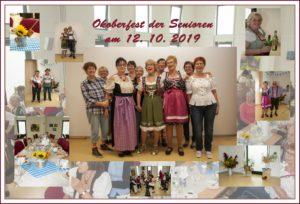 Oktoberfest der Senioren in Pinnow 2019