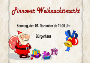Weihnachtsmarkt in Pinnow am 1. Advent 2019