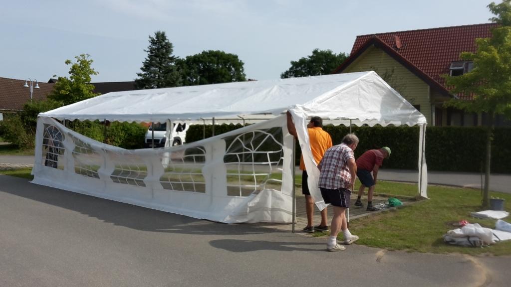 Pinnower Bürger feierten 2017 ihr 8. Straßenfest