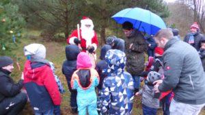 Pinnower Kindergartengruppe feierte am 08. Dezember 2017 eine Wildtierweihnacht